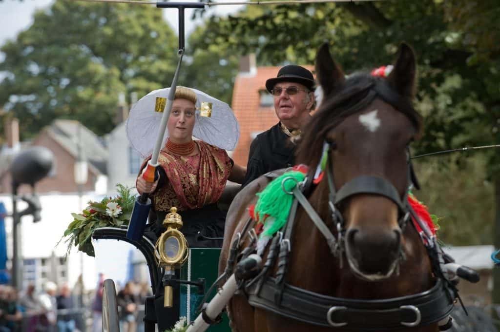 Ringsteken met paard en wagen