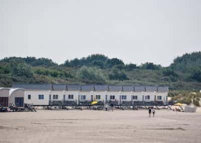 Strandhuisjes vrouwenpolder