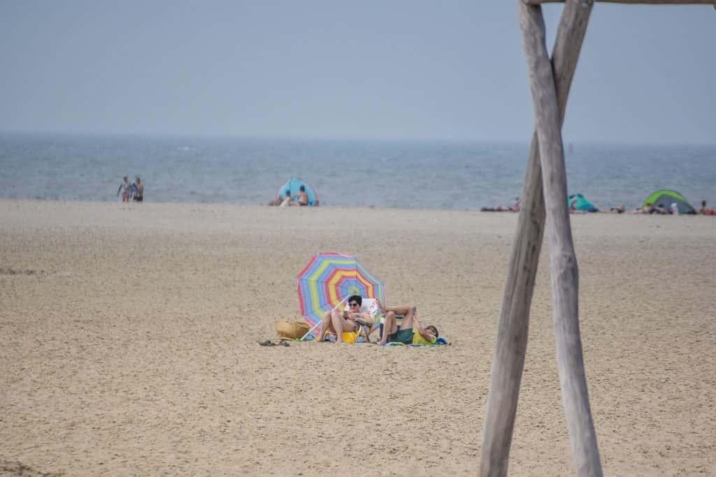 Dagje strand vrouwenpolder